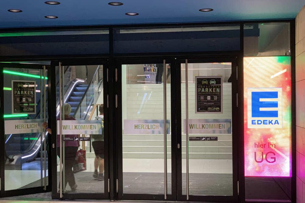 Besucherzählsystem im Einkaufszentrum