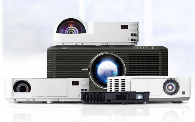 NEC-Projektoren