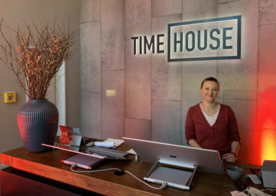 Timehouse Empfang