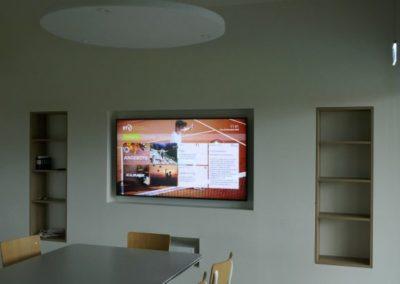 BTV Info-Bildschirm
