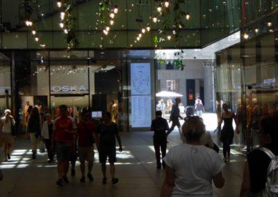 Wegeleitung- und Besucherinformation Fünf Höfe München