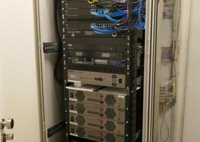 Audiotechnik Yamaha IP-TV-Server Ocilion Bay Tennisverband