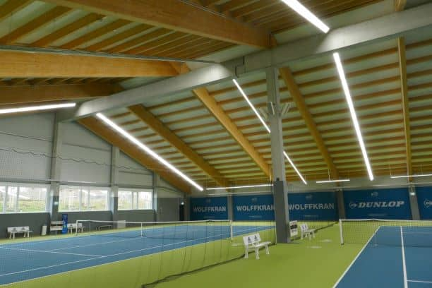 Beschallung Bose RoomMatch Bay Tennisverband