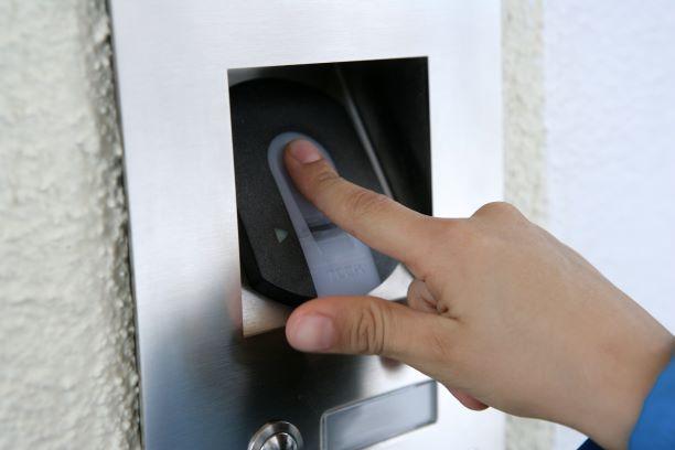 Haussteuerung Fingerprintsystem