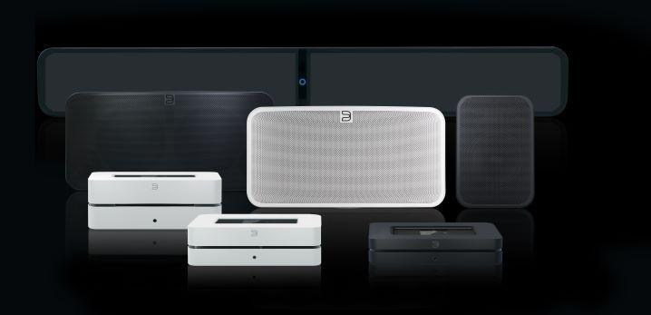 Multiroom Audio Bluesound Gen2i_Family_Soundbar