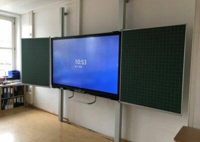 Tafelsystem mit Touchmonitor mit Promethean Grafrath