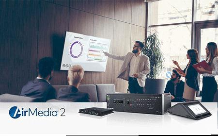 BYOD mit AIR Media von Crestron
