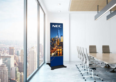 NEC dvLED A-Series Poster MeetingRoom